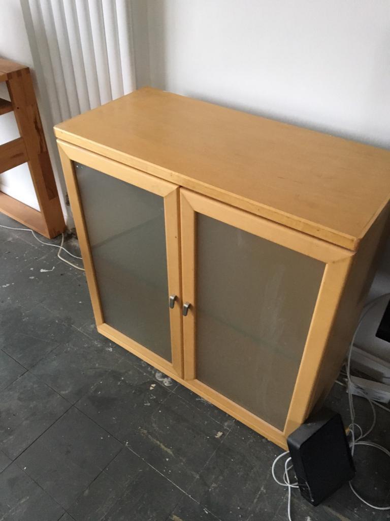 Solid beech veneer cupboard / sideboard