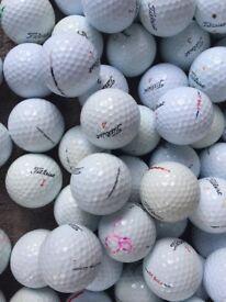 100 TITLEIST golf balls