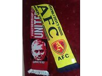7 Man-united Arsenal AFC Manchester United Scarves NEW Home Away 2016 2017