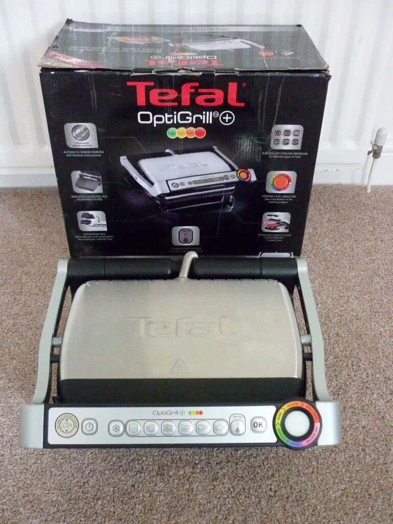 Tefal GC713D40 Stainless Steel OptiGril