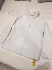Brand new White Women's Coat Size 14