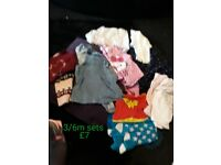 Baby clothes 0/3m 3/6m
