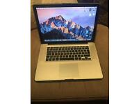 "MacBook Pro 15"" i7 quad core 8gb ram early 2011"