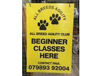 Agility & Obedience Classes