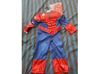 CHILD'S SPIDERMAN COSTUME