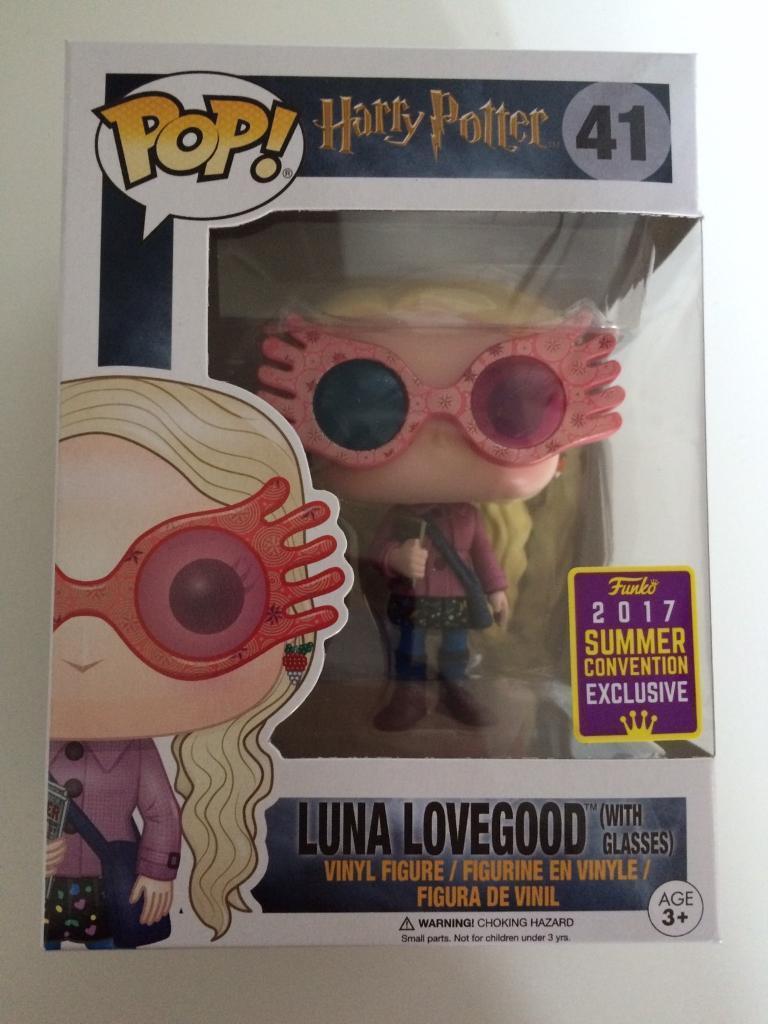 Harry Potter Luna Lovegood With Glasses Sdcc 41 Funko