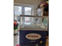 Catering equipment trailer commercial icecream display freezers and carts refrigeration