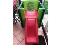 Little tykes cube frame with slide