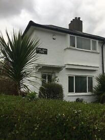 Beautiful 2 bedroom property with large garden to let