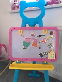 Peppa magnet and chalk board