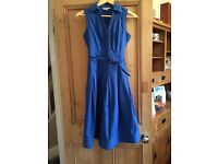 John rocha blue dress size 8
