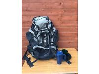 Hiking shoulder bag, rucksack, travel bag