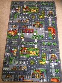 Children's car mat