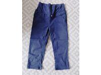 Maternity cropped trousers - size 8 (Jo Jo Maman)