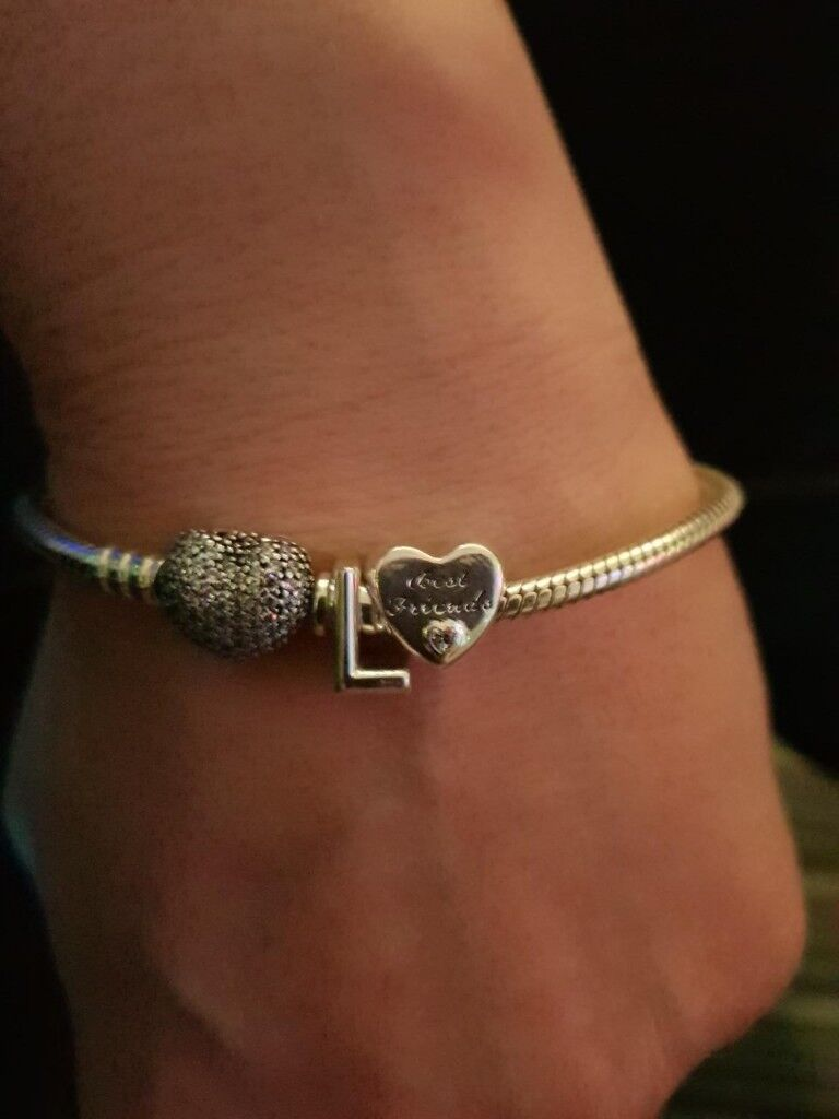c298a161875 Genuine Pandora Bracelet with 2 Charms | in Newcastle, Tyne and ...