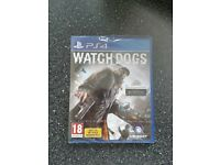 PS4 Watch Dogs game. Brand new & sealed