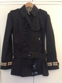 Daks Womens Reversible Trench Coat size 8