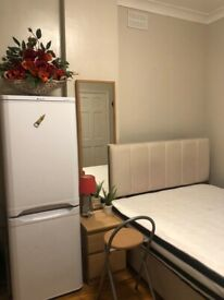 Studio flat available immediately for single occupancy or couples welcome