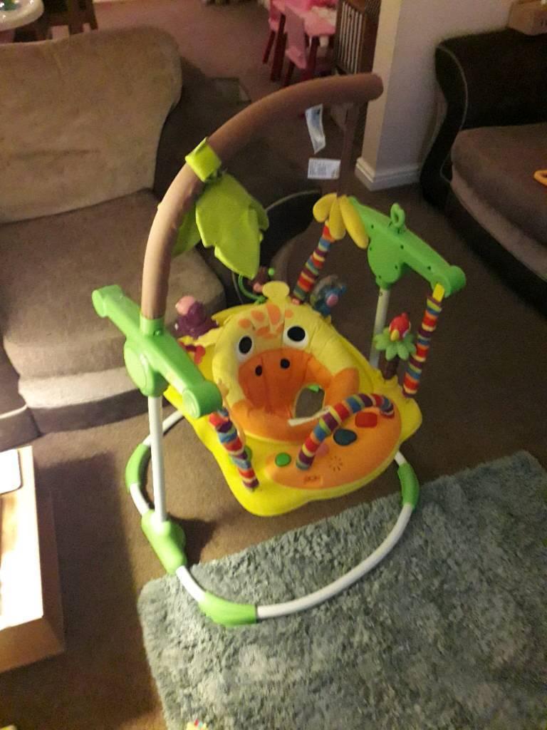 Mothercare giraffe jumperoo