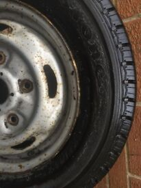 2 x 195/70/15 Firestone Tyres Partworn As New