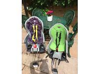Hamax bike seats