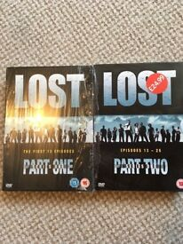 Brand new lost seasons 1&2