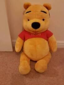 Winnie the pooh plush soft toy