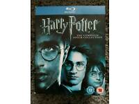 Harry Potter Complete Film Collection on Blu-Ray