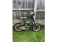"ULTIMATE BEN 10 BIKE, 14"" WHEELS, BELL, fully working and really good condition"