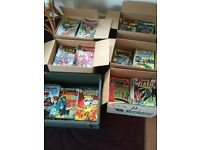 MARVEL AND DC COMICS 1960'S AND 1970'S EDITIONS