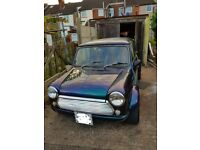mini classic custom paint with MOT