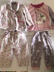 Bundle of 6-9 Month Baby Girls Pyjamas