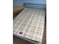 Metal frame and Air-sprung mattress