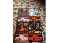 James patterson books!