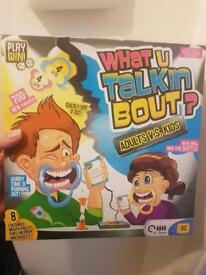 New What u talkin bout game
