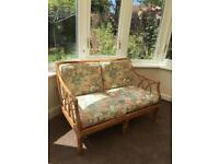Cane 2 seater chair