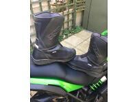 TCX Explorer motor bike boots