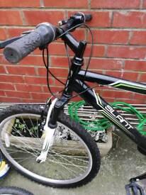 Boys 17 inch mountain bike