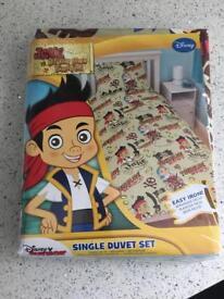 Jake & the Never Land Pirates Single Duvet Set