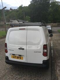 Pergeot partner 1.6 diesel 3 seater vgc fsh