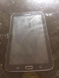 PERFECT CONDITION Samsung galaxy tablet 3-7-inch screen-black