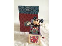 """Disney Traditions """"Mickey in The Box"""" Figurine"""