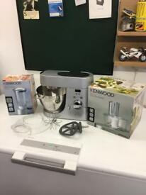 Kenwood Chef Titanium in excellent condition Food Processor and Glass Liquidiser.