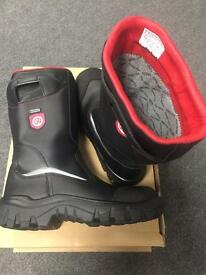 GORE-TEX STEITZ SECURA FIREPROOF BOOTS SIZE 9 AND SIZE 10 AVAILABLE