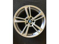 BMW X3 alloy wheel 8.5x19 for sale only got one £150 call 07860431401