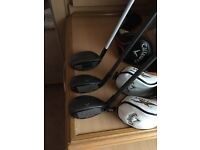 Callaway xhot 3 wood and also x2 hot 3 and 5 hybrids