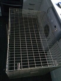 Used large dog cage, used but good condition