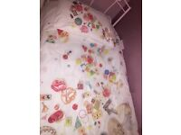 Next girls bedding two sets used once amazing condition