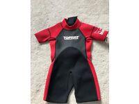 Toddler Neoprene wetsuit 18-24 months x 2