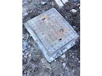 Iron drain manhole 600 x 450